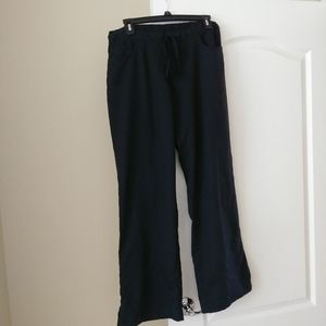 Grey's Anatomy Black Scrub Bottoms Size M